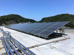 耐久中学校 太陽光発電